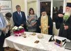 Στα εγκαίνια των νέων γραφείων του Σωματείου Ηπατομεταμοσχευθέντων Ελλάδας «Ηπάρχω» ο Πρόεδρος του ΙΣΑ
