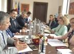 Συνάντηση εργασίας του Προέδρου του ΙΣΑ και της ΚΕΔΕ Γ. Πατούλη με τη Δήμαρχο Βουκουρεστίου Gabriela Firea, στο πλαίσιο της επίσκεψής του στη Ρουμανία