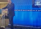 Τις σοβαρές απώλειες που υφίσταται η Ελλάδα, λόγω των μειούμενων κλινικών  μελετών, τόνισε ο πρόεδρος του ΙΣΑ  Γ. Πατούλης, στο πλαίσιο του χαιρετισμού του στο 7th Clinical Research Conference