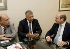 Συνάντηση με τον Αντιπρόεδρο της Νέας Δημοκρατίας Κωστή Χατζηδάκη είχε ο Πρόεδρος ΙΣΑ Γ. Πατούλης και το Συντονιστικό Όργανο των Φορέων Πρωτοβάθμιας Φροντίδας Υγείας για να τον ενημερώσουν για τα κρίσιμα προβλήματα του κλάδου