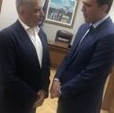 Συνομιλία με την νέα πολιτική ηγεσία του Υπουργείου Υγείας είχε ο Πρόεδρος του ΙΣΑ Γ. Πατούλης, στο πλαίσιο της τελετής παράδοσης παραλαβής του Υπουργείου Υγείας