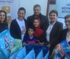 Το Ιατρείο Κοινωνικής Αποστολής συμμετείχε σε γεύμα αγάπης, για τους πρόσφυγες και τους μετανάστες που φιλοξενούνται στο Ελληνικό