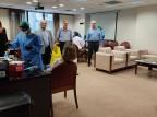 Διαγνωστικά τεστ για κορωνοϊό στο προσωπικό του ΙΣΑ από τις Κινητές Ομάδες Επισκέψεων στο Σπίτι