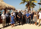 Δράση ενημέρωσης για την εφαρμογή των μέτρων προστασίας των πολιτών στις παραλίες της Αττικής από τον ΙΣΑ, την Περιφέρεια Αττικής και τον Δήμο Αλίμου