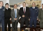 Συνάντηση του Προέδρου του ΙΣΑ και Περιφερειάρχη Αττικής Γ. Πατούλη και του Υφυπουργού Εθνικής Άμυνας Α. Στεφανή