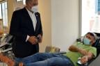 Με επιτυχία πραγματοποιήθηκε η πρώτη εθελοντική αιμοδοσία του προσωπικού του ΙΣΑ