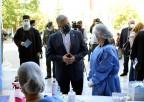 Παρουσία του προέδρου του ΙΣΑ και Περιφερειάρχη Αττικής Γ. Πατούλη διενεργήθηκαν σήμερα στη Μητρόπολη Αθηνών rapid test σε ιερείς και στο προσωπικό
