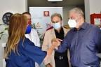 Επίσκεψη του Προέδρου του ΙΣΑ και Περιφερειάρχη Αττικής στο Δήμο Ν. Σμύρνης, με αφορμή τον δωρεάν προληπτικό έλεγχο για ανεύρυσμα κοιλιακής αορτής στο ΚΕΠ Υγείας