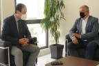 Συνάντηση του Προέδρου του ΙΣΑ Γ. Πατούλη, με τον Πρόεδρο του ΙΣΘ Ν. Νίτσα